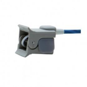 Sensor SPO2 dedo pediátrico, Datex-Ohmeda, DB9(9 Pin), Clip