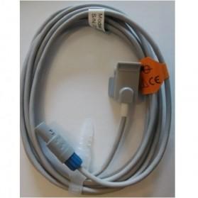 Sensor SPO2 dedo pediátrico, Mindray, 6 Pin, Clip, Tecnología Nellcor