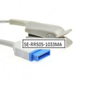 Sensor SPO2 dedo adulto, GE, 11 Pin, Clip, Tecnología Masimo