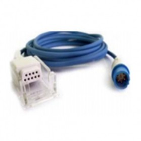 Interfaz SPO2, Siemens Drager, 7 Pin→DB9F, para sensor Nellcor