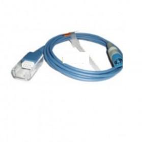 Interfaz SPO2, HP/Phillips, 8 Pin→DB9F, Tec Nellcor