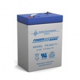 Bateria,6V, 4,5 Ah, PS-640F1