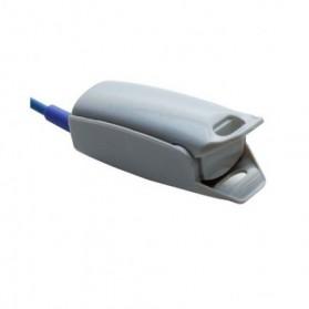 Sensor SPO2 dedo adulto, Nonin, DB9 (9 Pin), Clip, 3 mt