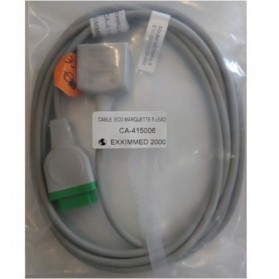 Cable Troncal ECG,11 Pin,5 leads,GE Marquette,Troncal