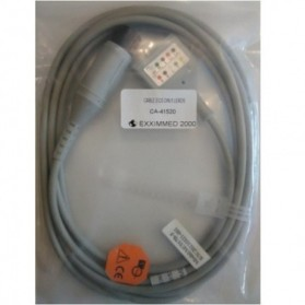 Cable Troncal ECG,6 Pin,5 leads,Varias