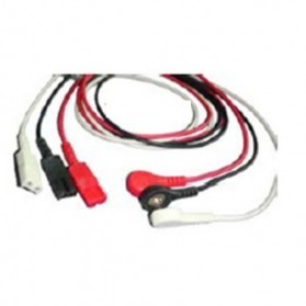 Derivada ECG, LL-2 Pin, 3 leads, LL