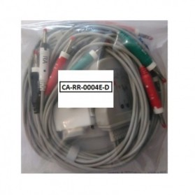 Cable EKG, 15 Pin, 10 leads, Fukuda Denshi